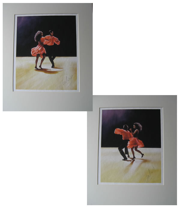 SALSA DANCERS - PAIR